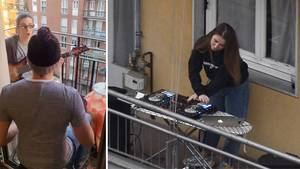 Wegen Coronavirus: Italienische Balkonkonzerte begeistern die ganze Welt