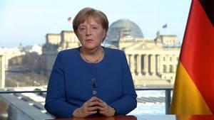 Angela Merkel zum Coronavirus