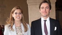 Prinzessin Beatrice und ihrVerlobterEdoardo Mapelli Mozzi