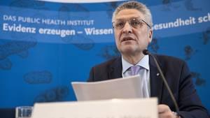 Lothar Wieler, Präsident des Robert-Koch-Instituts, informiert zum Coronavirus in Deutschland