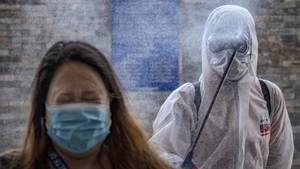Coronavirus: Desinfektionsmaßnahmen auf den Philippinen