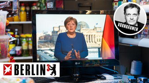 Merkel bei TV-Rede