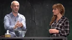 Virologe Jonas Schmidt-Chanasit im Gespräch mit DISKUTHEK-Moderatorin Melanie Stein