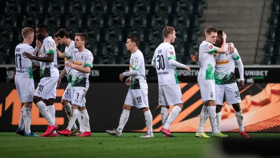 Die Profis von Borussia Mönchengladbach verzichten auf einen Teil ihres Gehalts