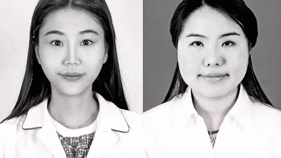 Deng Danjing und Xia Sisi