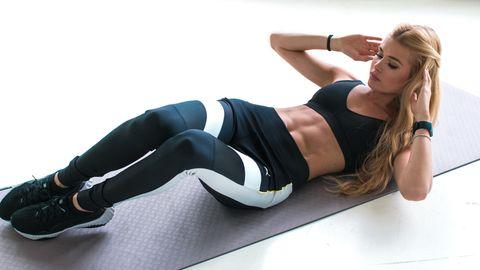 Um fit zu bleiben (oder zu werden) braucht man kein voll ausgestattetes Fitnessstudio - es reicht auch eine Matte.