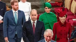 Harry, Meghan und William zur Corona-Krise
