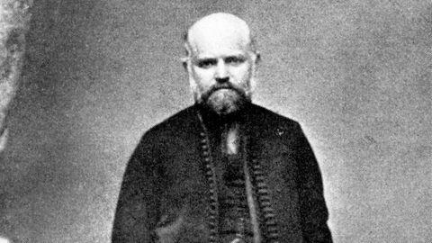 Ungarischer Arzt Ignaz Semmelweis (1818-1865)