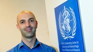 Der Virologe Jonas Schmidt-Chanasit vom Hamburger Bernard-Nocht-Institut für Tropenmedizin