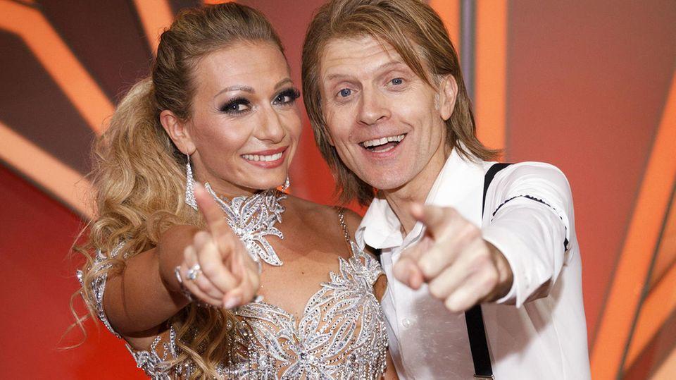 John Kelly und seine Tanzpartnerin Regina Luca