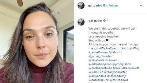 "Gal Gadot singt ""Imagine"""