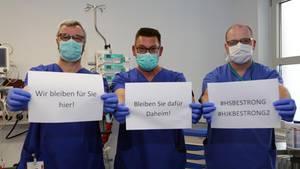 """Mit """"HJK be strong 2"""" muntert sich das Team des Hermann-Josef-Krankenhauses in Erkelenz auf"""