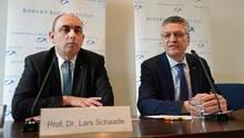 Leise Selbstkritik: RKI-Präsident Lothar Wieler (r.) und sein Vize Lars Schaade