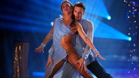 Renata Lusin und Moritz Hans tanzten eine Rumb