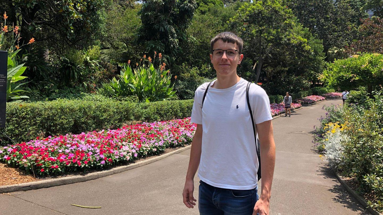 Eigentlich wollte Nico Werner, 18, noch bis Juni durch Australien reisen