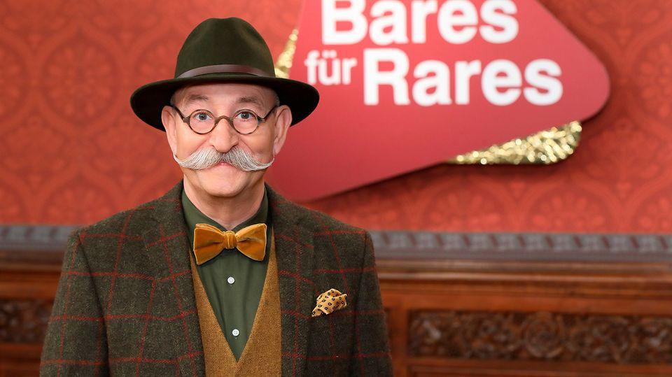 """Horst Lichter moderiert im ZDF die Sendung """"Bares für Rares"""""""