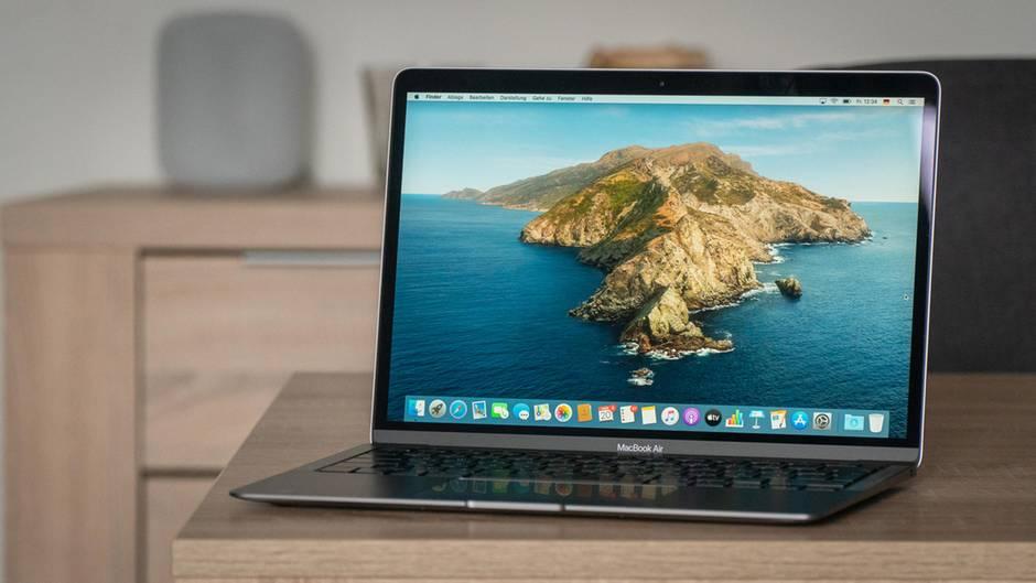 Apple hat das Macbook Air mit einer neuen Tastatur ausgestattet.