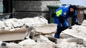 Zagreb: Mindestens ein Toter bei Erdbeben in kroatischer Hauptstadt