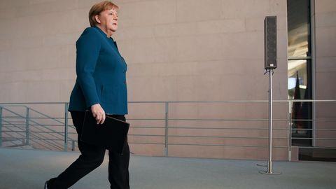 Angela Merkel Quarantäne