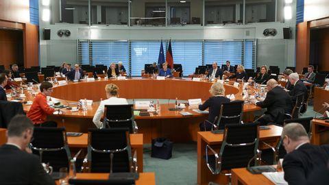 Das Bundeskabinett tagt (Archivfoto)