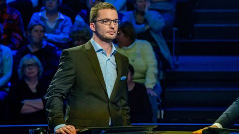 """Jan Stroh als Kandidat bei """"Der Quiz-Champion"""" im ZDF"""