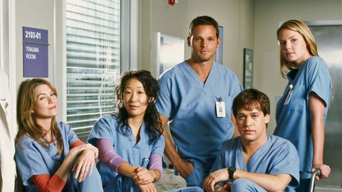 Der Original-Cast von Grey's Anatomy