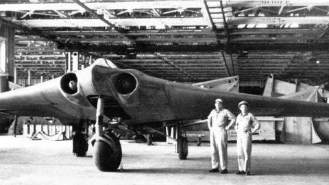 In der Gothaer Waggonfabrik fielen die Prototypen in die Hand der US-Armee.