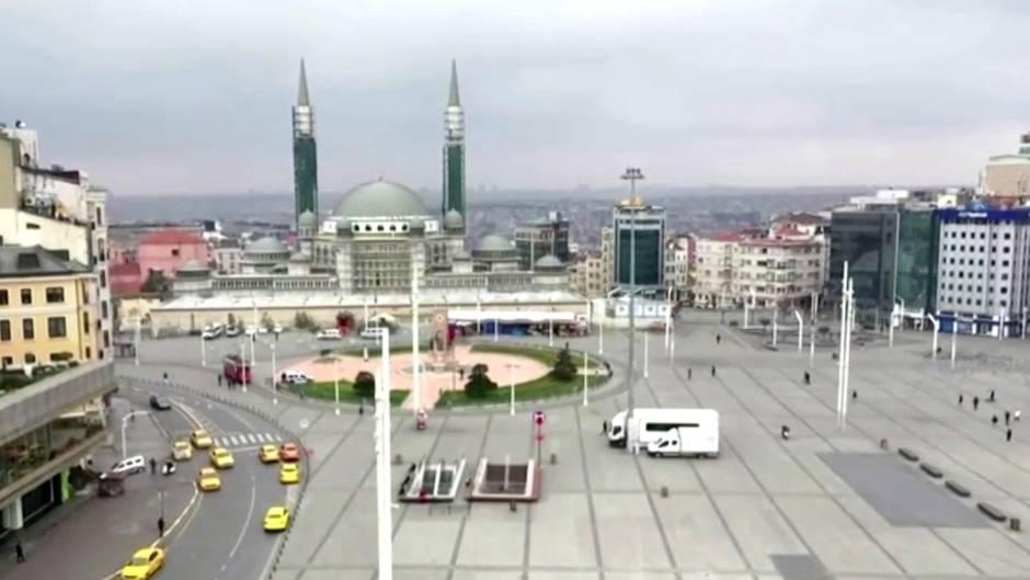 #stayhome: Drohnenbilder aus Istanbul und London: So verändert das Coronavirus die Metropolen der Welt