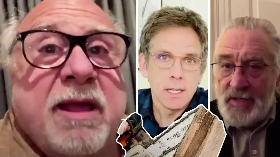 Robert De Niro, Danny Devito, Ben Stiller