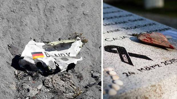 Germanwings-Trümmer; Gedenkstein in Haltern am See