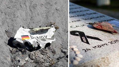 Germanwings-Trümmer; Gedenkstein in Haltern am See