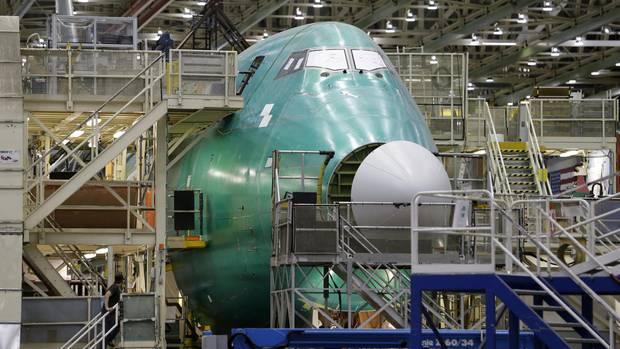 Im Werk Everett im Bundesstaat Washington wird unter anderem die Boeing 747 endmontiert.