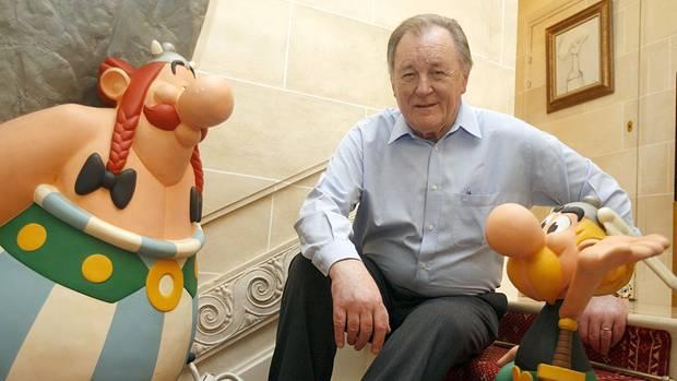 Albert Uderzo war der zeichnerische Schöpfer von Asterix und Obelix