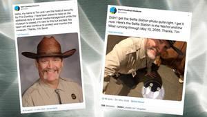 Der Security-Chef des Cowboy-Museums hat den Twitter-Account übernommen