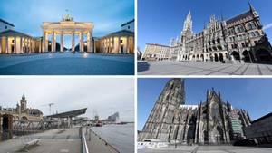 Berlin, Hamburg, München und Köln in Zeiten des Coronavirus