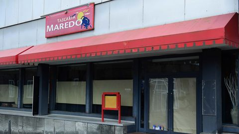 Eine geschlossene Marado-Filiale in Essen