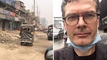 Luftverschmutzung in Dhaka, der Hauptstadt von Bangladesch