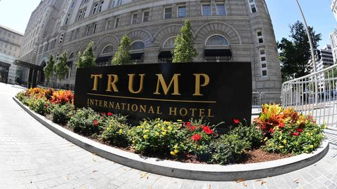 Das Trump International Hotel in Washington DC.