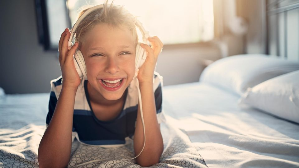 Nicht immer müssen Mama und Papa die Geschichte vorlesen, Hörspiele sind ebenso beliebt bei Kindern
