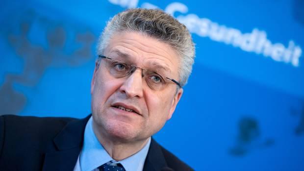Lothar H. Wieler, Präsident des Robert Koch-Instituts (RKI), gibt ein Update zur Coronavirus-Lage in Deutschland