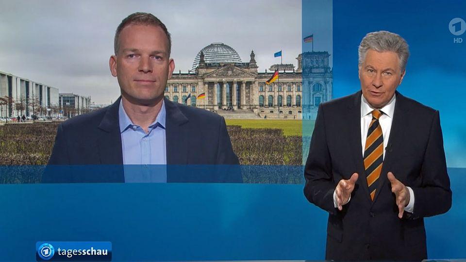"""Panne bei der ARD-""""Tagesschau"""""""