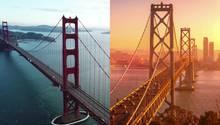 Coronavirus: Drohnenaufnahmen zeigen San Francisco als Geisterstadt
