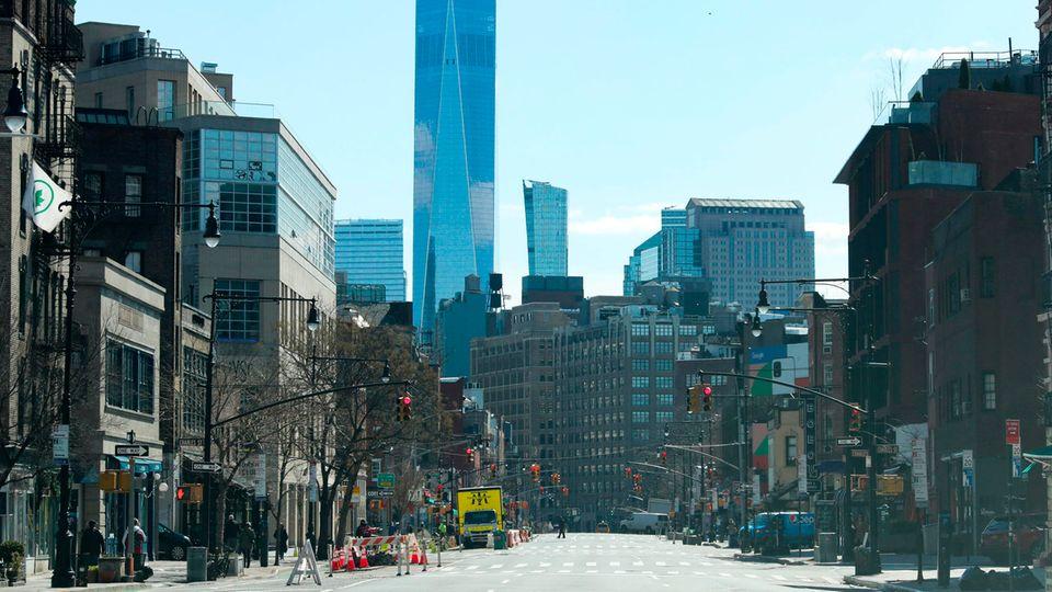Corona legt New York lahm