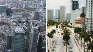 Coronavirus: Menschenleere Metropolen wirken wie Geisterstädte