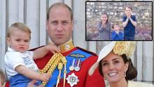 Neues Video für Corona-Helfer zeigt: Prinz Louis hat einen großen Wachstumsschub bekommen
