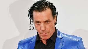 Till Lindemann, Sänger der Band Rammstein und solo unterwegs