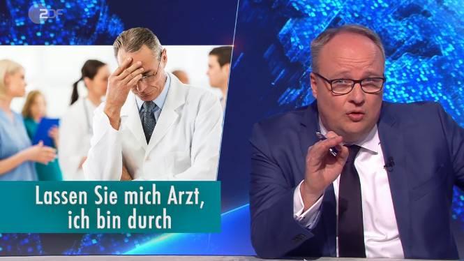 """Oliver Welke kritisiert in der jüngsten Ausgabe der """"heute show"""" die """"auf Kante genähte"""" Austattung des deutschen Gesundheitssystems."""