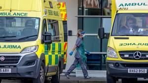 Krankenhaus- und Ambulanzpersonal in London