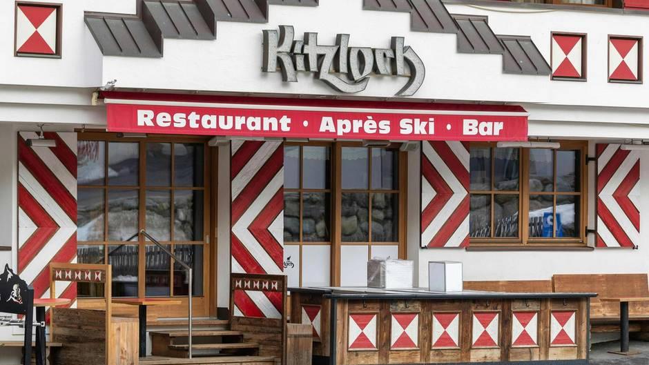 In der bekannten Apres-Ski-Bar Kitzloch sollen sich vor allem skandinavische Urlauber angesteckt haben