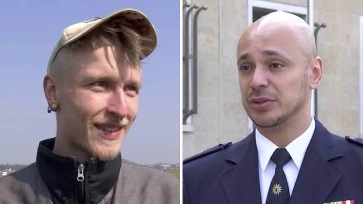"""Polizei setzt Kontaktverbot in Berlin durch: """"Es war unangenehm, weil ich nichts davon wusste"""""""